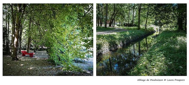 parc de l'abbaye de Maubuisson © Laura Prospero
