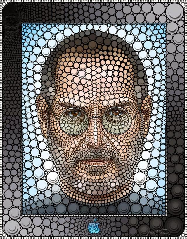 Benjamin Heine, Digital Circlism, Steve Jobs