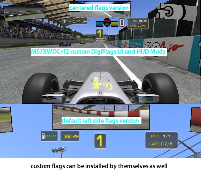 Nueva interfaz de usuario para rFactor