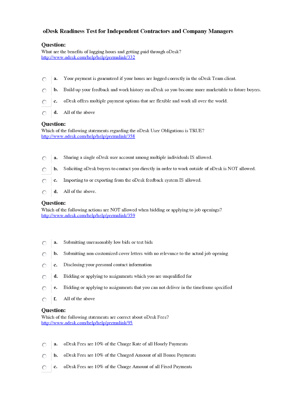 Samples of cover letter for odesk