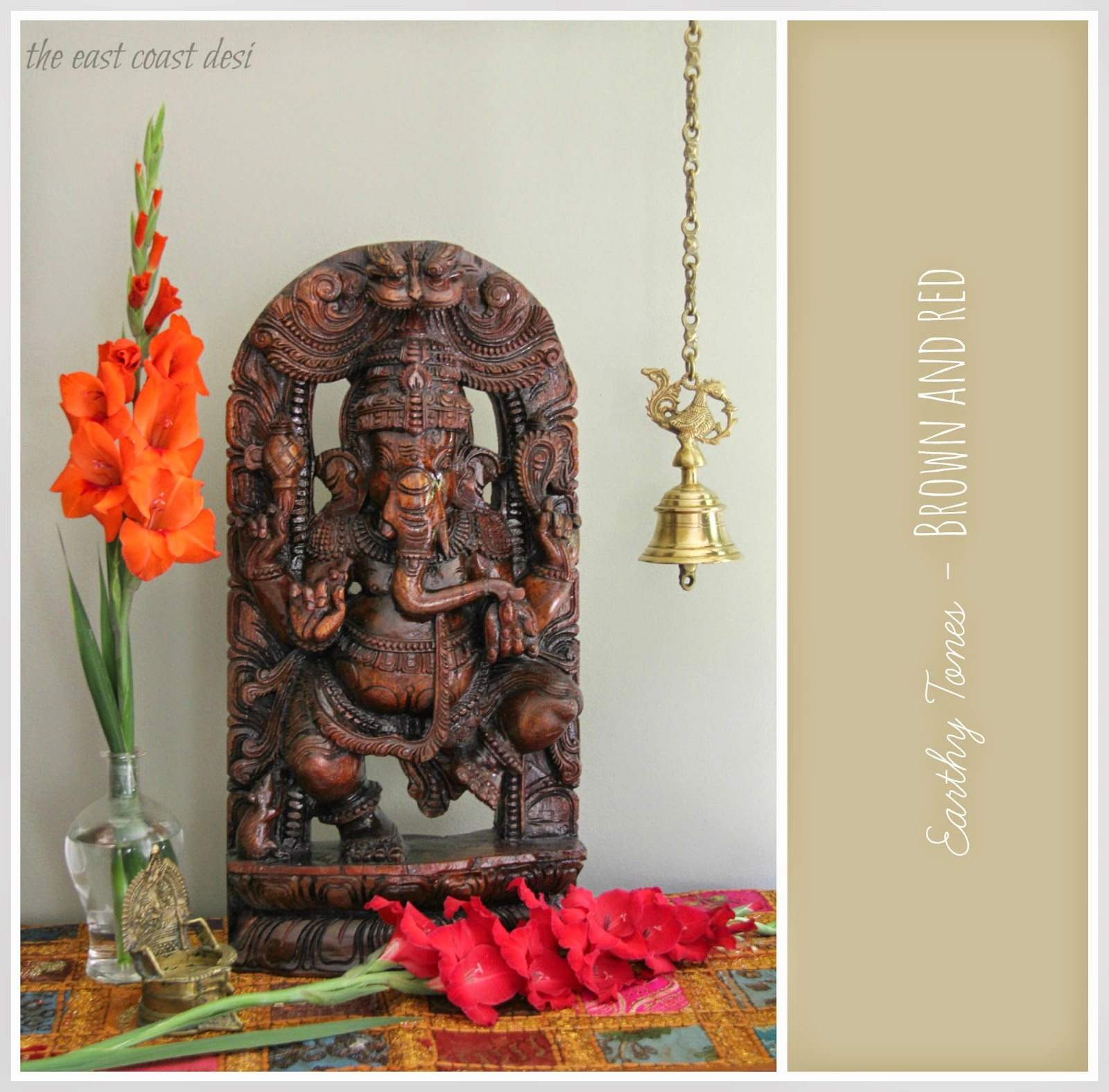 The east coast desi celebrate ganesh chaturthi in for Foyer design ideas india