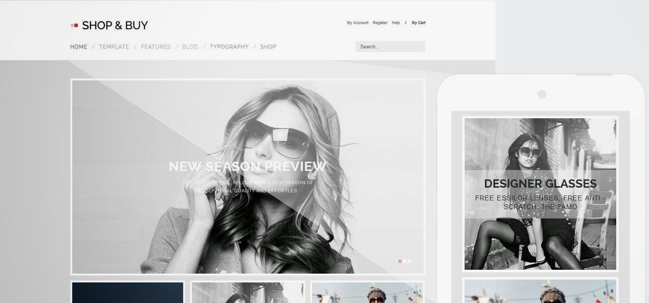 Descargar] Plantilla Joomla GavickPro - Shop and Buy (Comercio ...