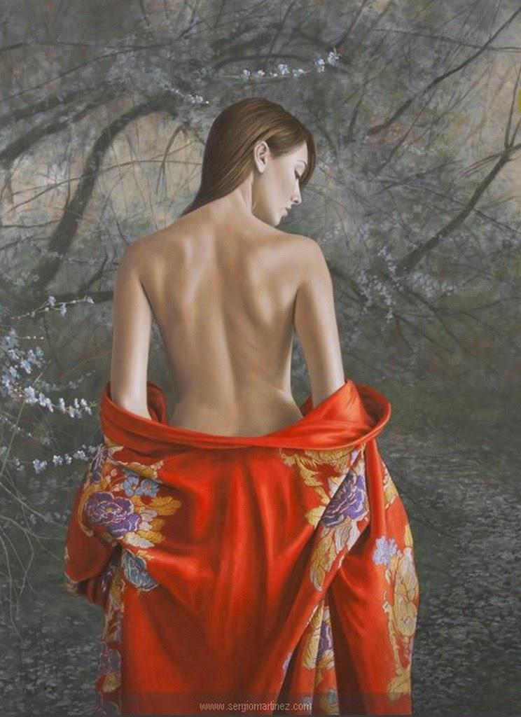 Cuadros De Mujeres de Espalda