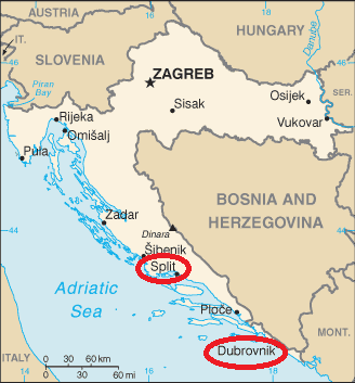 Podróże 2008: Chorwacja wiosną