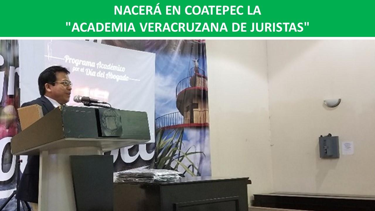 """""""ACADEMIA VERACRUZANA DE JURISTAS"""""""