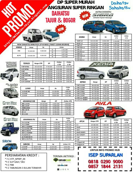 Promo Daihatsu Bogor - Tajur