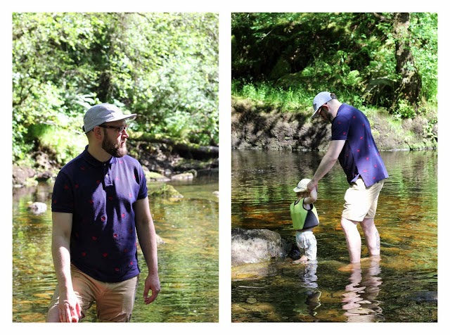 river wadding