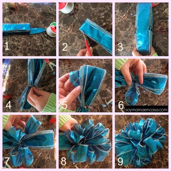 como hacer lazos de regalo - moños DIY