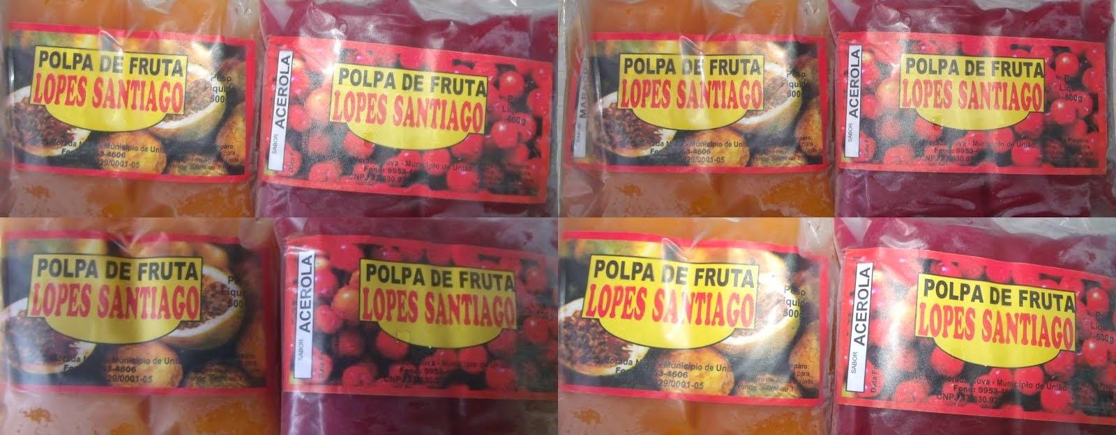 Polpa de Fruta: Lopes Santiago