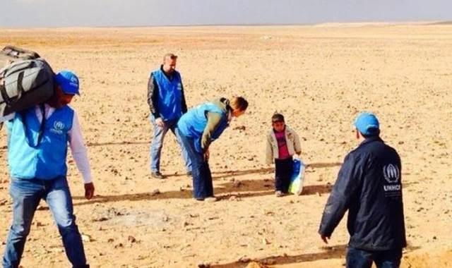 marwan bocah suriah sendirian di padang pasir