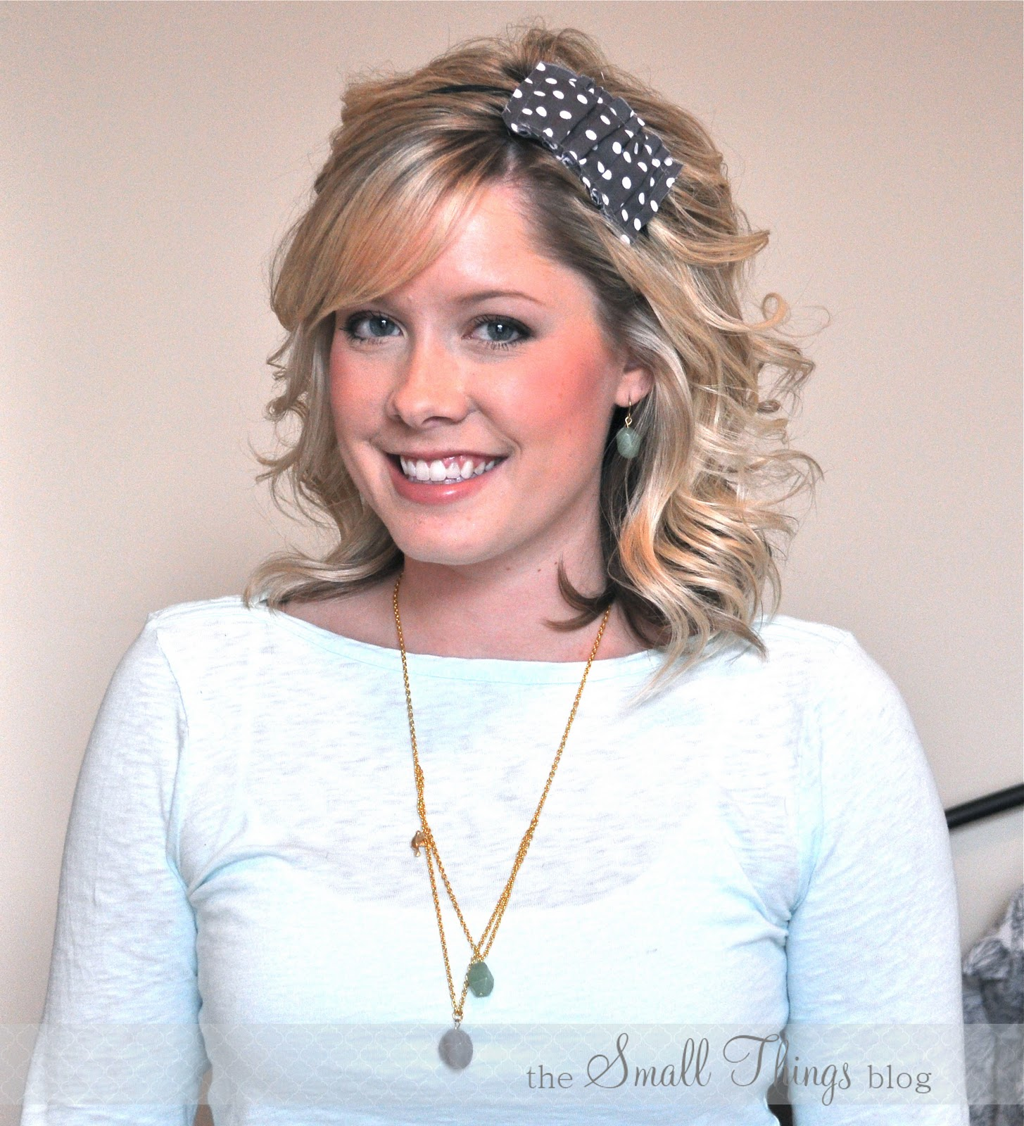 How To Wear A Headband The Small Things Blog