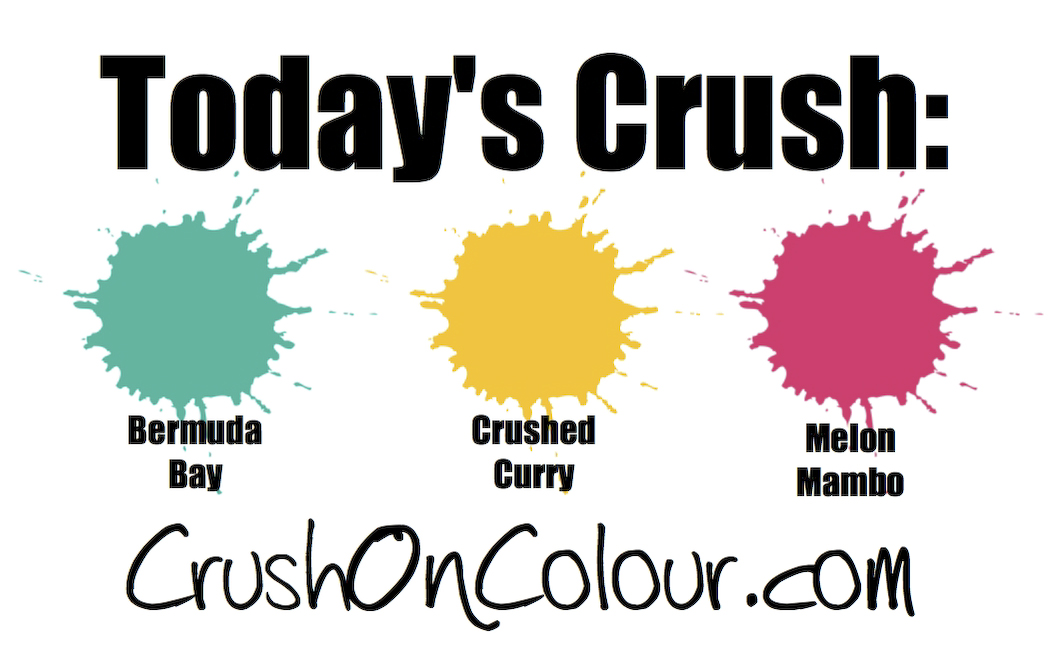 Crush On Colour Its Your Day Typewriter Birthday Card