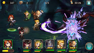 Screenshots of the League of angels: Fire raiders for Android tablet, phone.