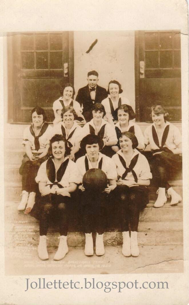 Naval Supply Station Basketball Team 1920  http://jollettetc.blogspot.com