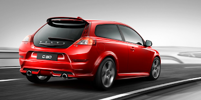 2013 Volvo C30 red