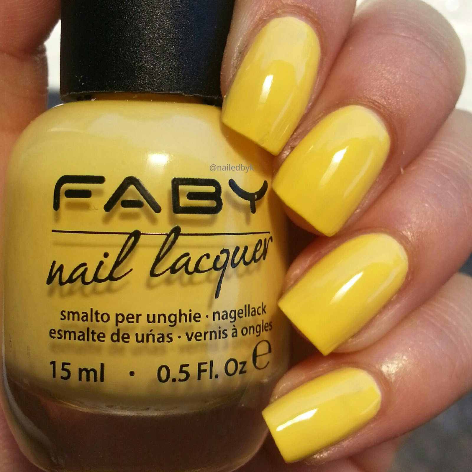 Faby Music Collection - Swatch and Review | Nailed by Kim