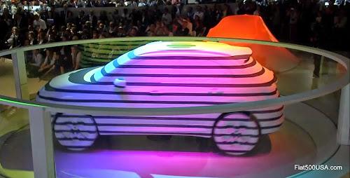 Fiat 500X Debut at Paris Motor Show