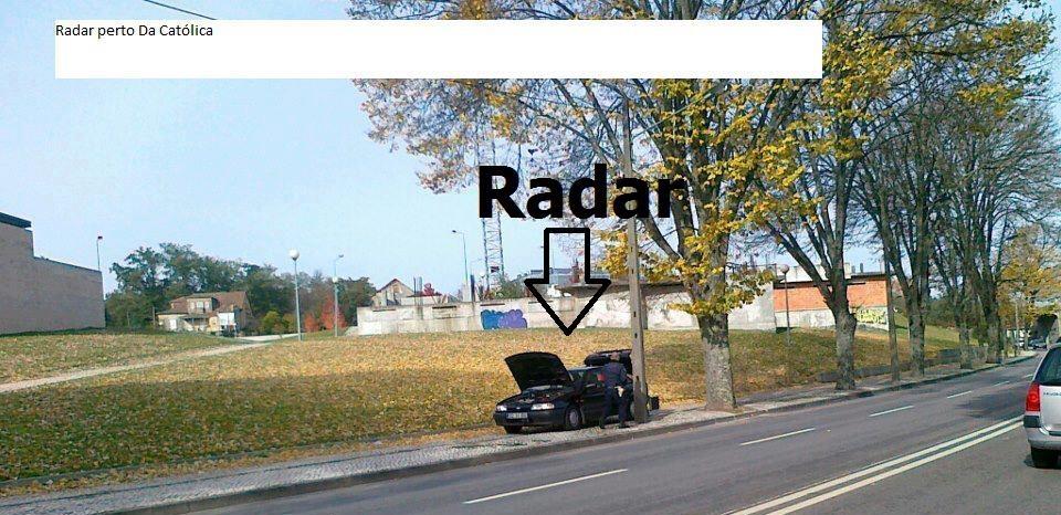 Radar em Viseu Junto à Universidade Católica