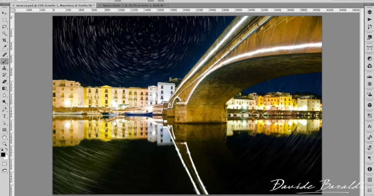 Effetto Star Trails - Tutorial per Photoshop