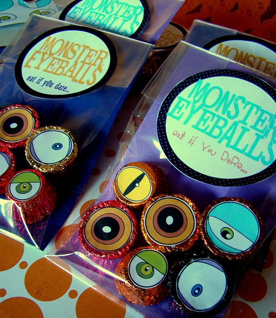 MoNstER EYeBaLLs & Spellbinding Witch Hats Halloween Crafts