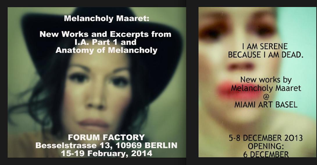 melacholy maaret berlin art basel