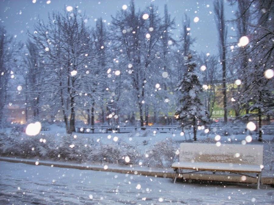 Tips membuat efek salju di blog