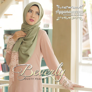 Ayyanameena Beverly Dusty Peach