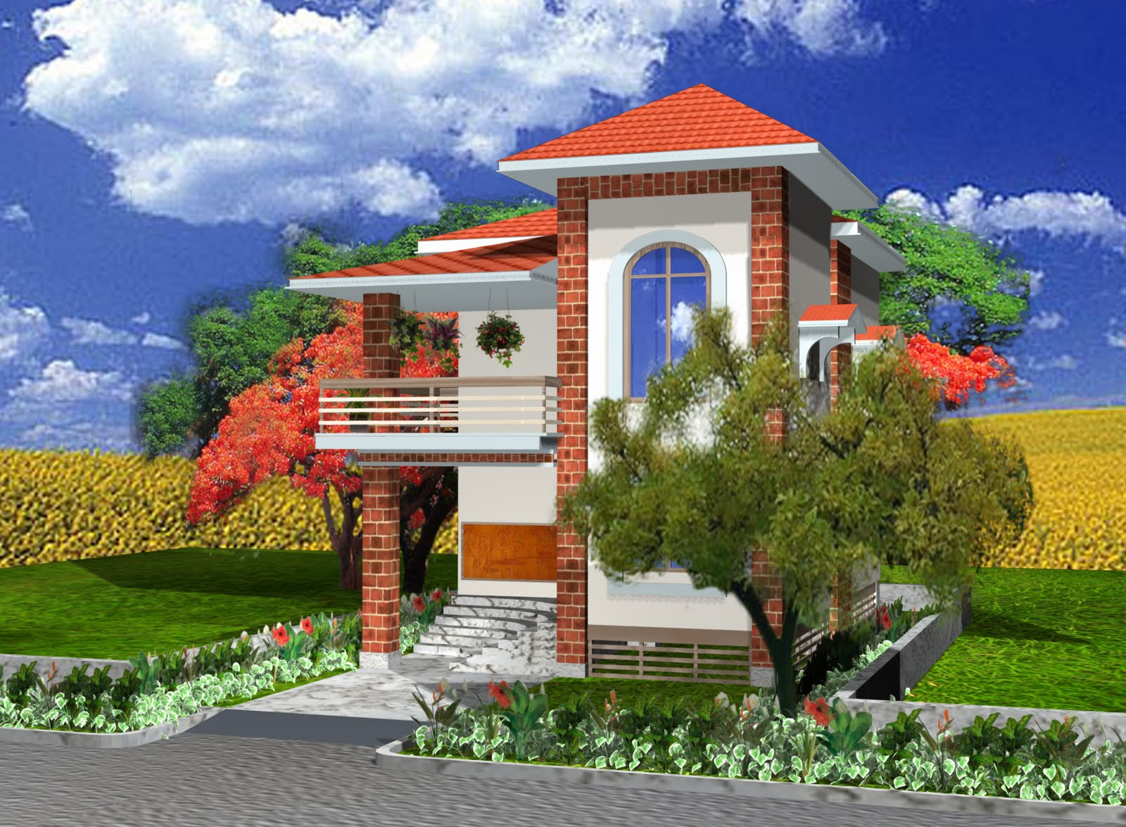 Shadhin 39 s personal blog 3d view of duplex house design 3d view home design