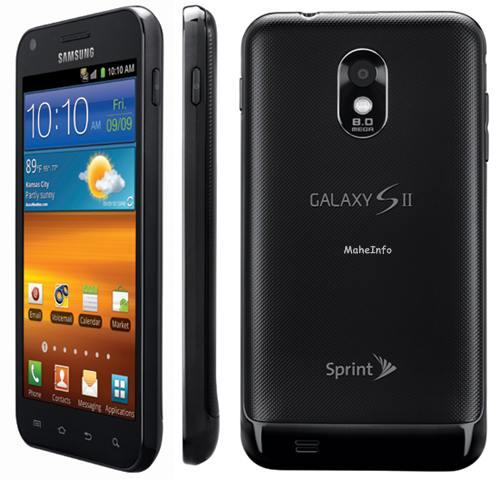 Samsung Galaxy S II Epic 4G
