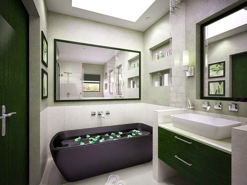 keramik kamar mandi modern