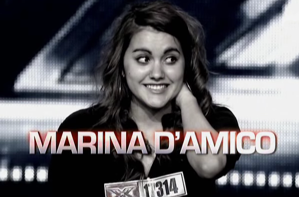 X-Factor Marina Fuck you alicia keys
