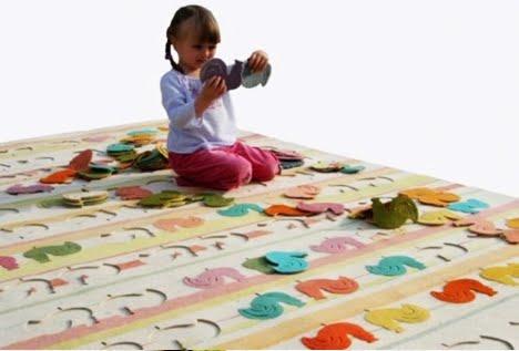Se orita puri acuda a caja 7 alfombras infantiles - Alfombras puzzle infantiles ...