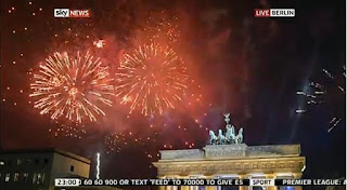 New Year 2012 Eve Berlin Celebrations, Germany, Brandenburg Gate Fireworks -Travel Europe Guide