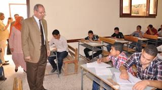 """طلاب المرحلة الثانية الثانوية العامة، يؤدون امتحان مادة الجبر والهندسة الفراغية """"رياضيات (2)"""" الخميس 27/6/2013"""
