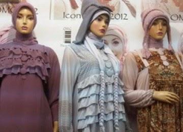 Contoh Busana Muslim Kaftan Untuk Orang Gemuk