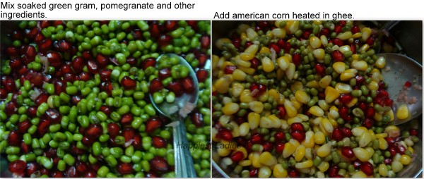 Green Gram American Corn Salad recipe+corn salad recipe+easy indian recipes