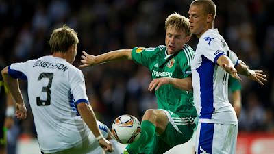 Vorskla Poltava 1 - 1 FC Copenhagen (2)