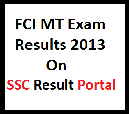 FCI MT exam result