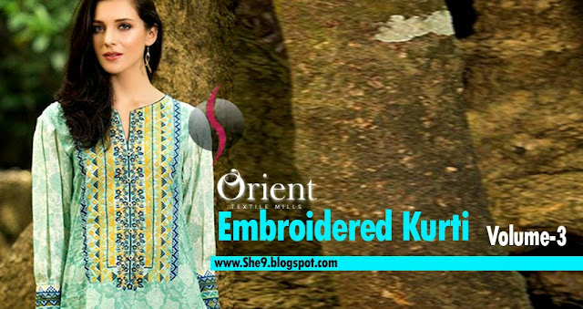 Embroidered Kurtis Collection