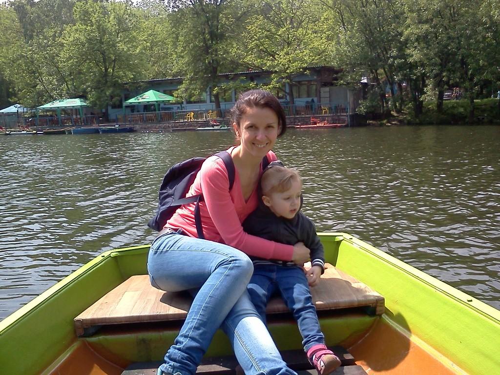 лодки в голосеевском парке