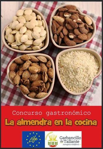 Logo del concurso gastronómico La almendra en la cocina