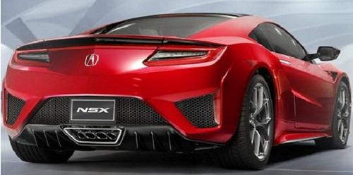 Auto Redesign: 2017 Acura NSX Top Speed