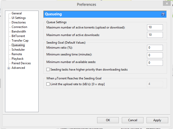 how to increase download rate utorrent