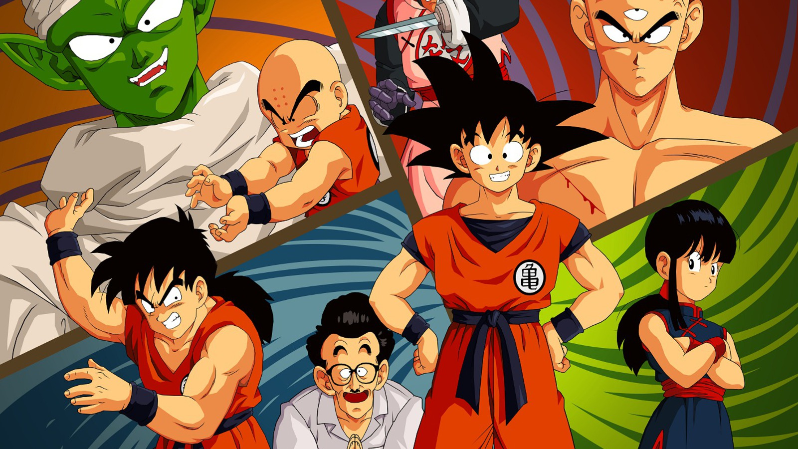 Dragon Ball HD & Widescreen Wallpaper 0.955384829891557