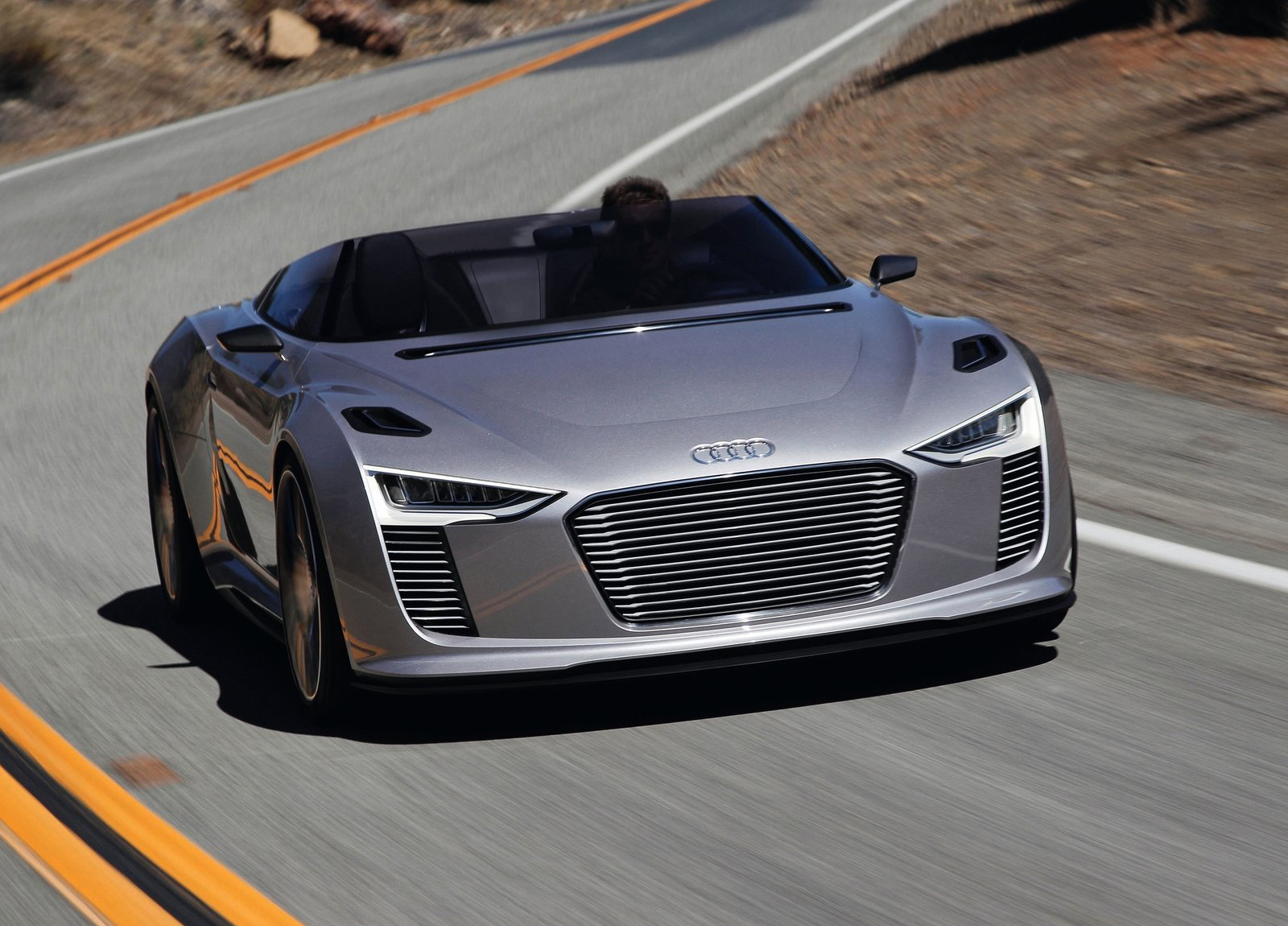 Audi E Tron Spyder Hd Wallpapers The World Of Audi