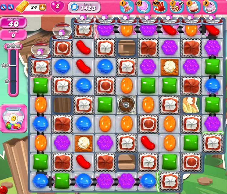 Candy Crush Saga 1423
