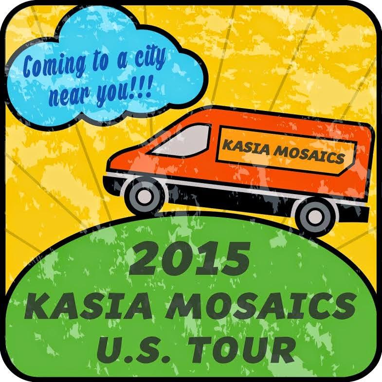 2015 Kasia Mosaics US Tour