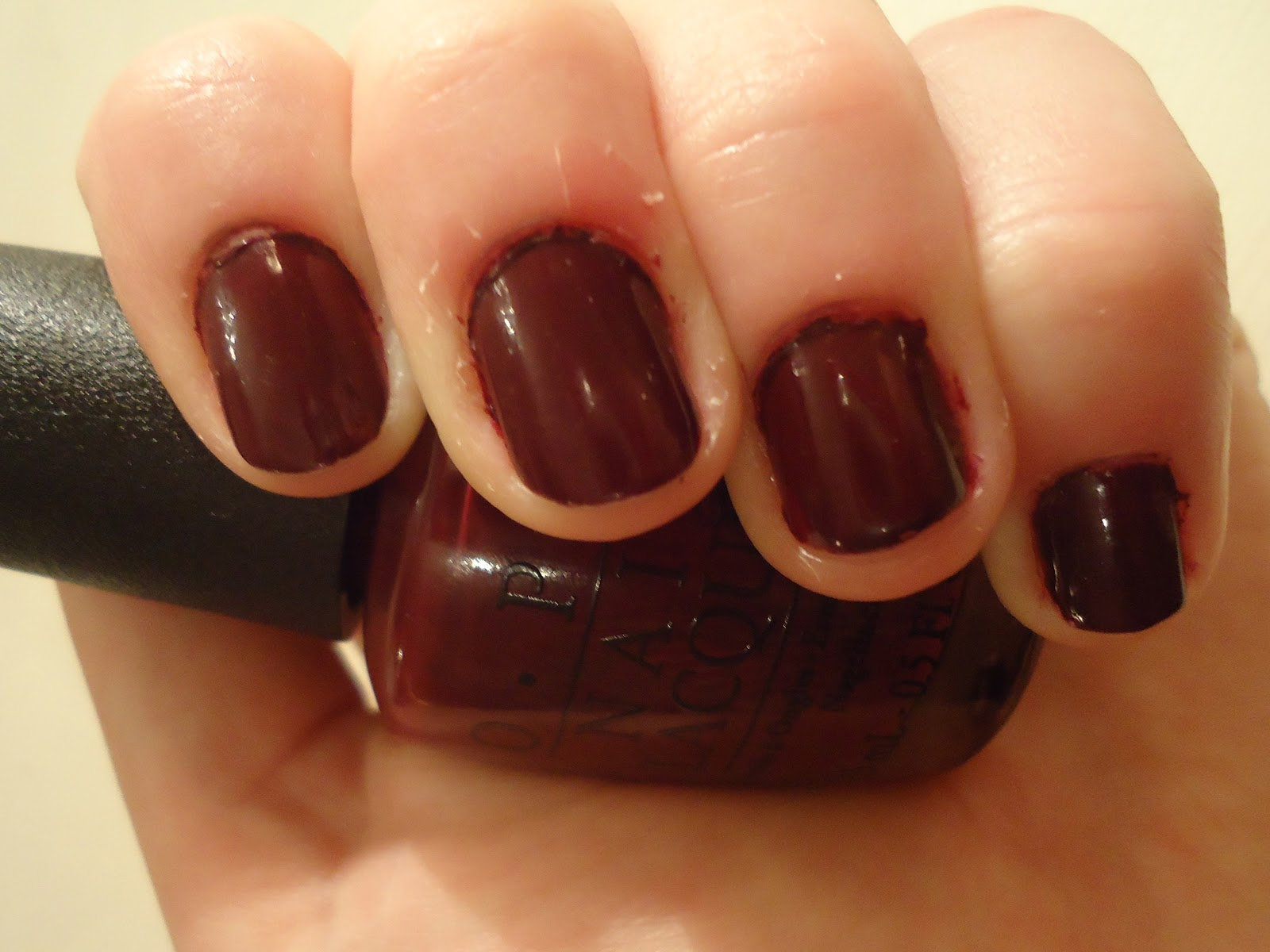 Prepped and Polished: OPI \'Mrs O\'Leary\'s BBQ\'