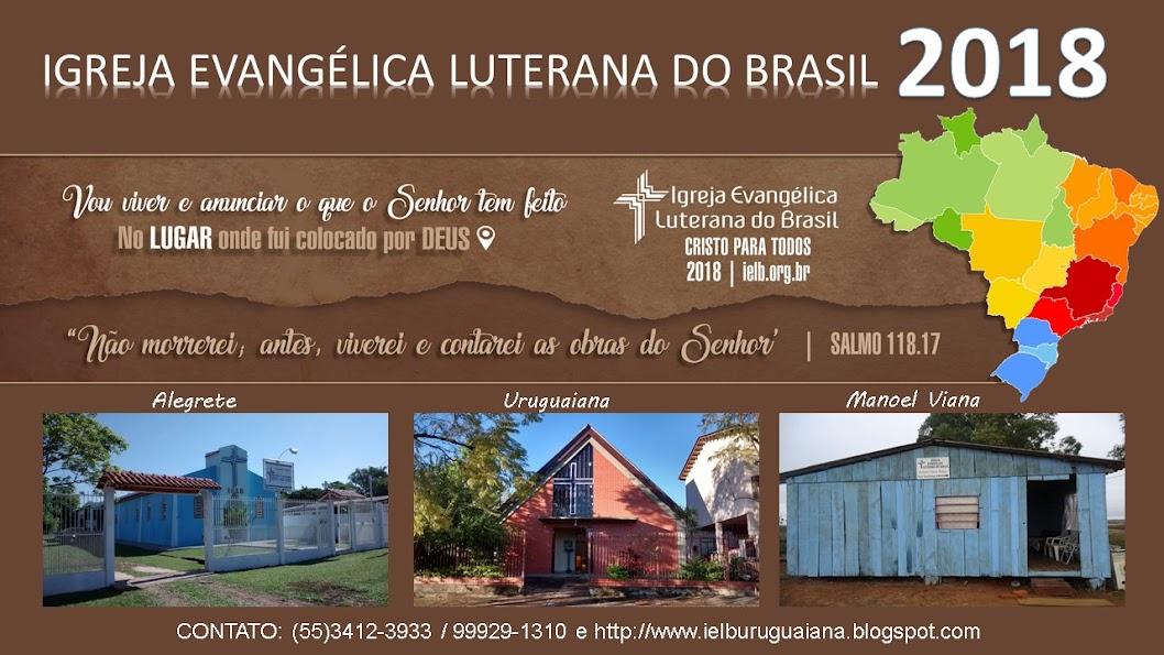 """CEL """"Paz de Cristo"""" de Uruguaiana - RS"""
