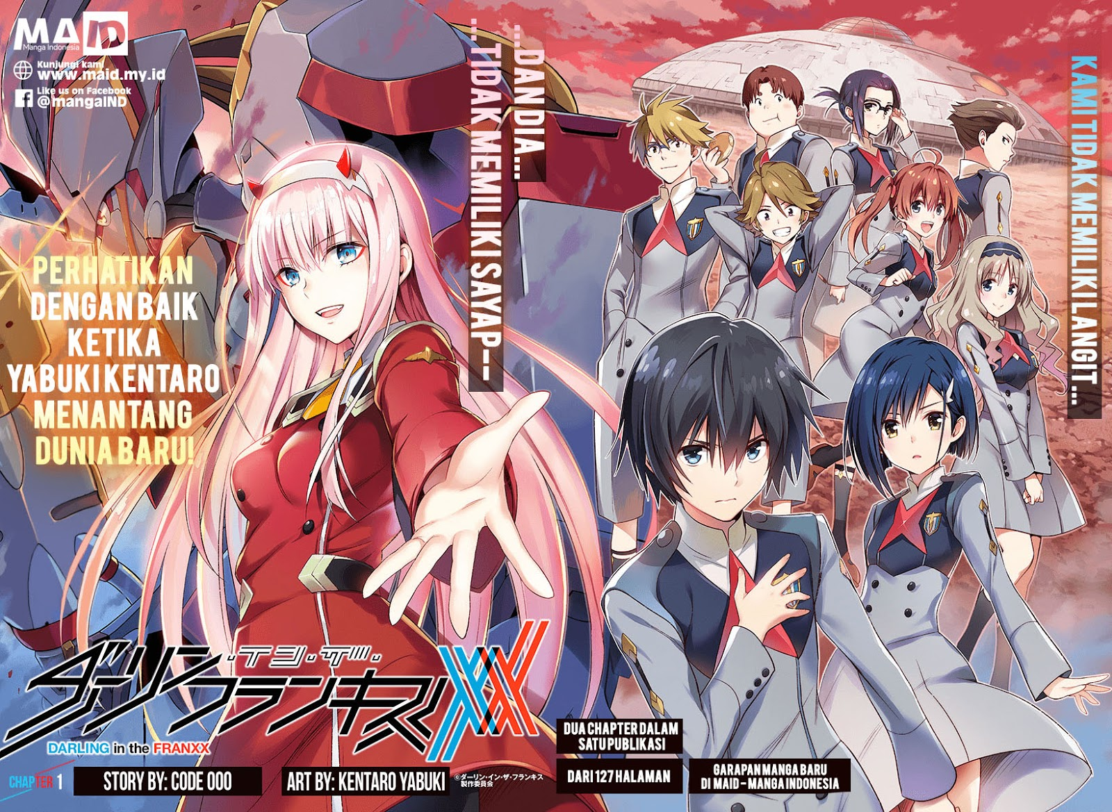 Darling in the FranXX Chapter 01-2